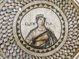 Roman Mosaic with Greek Goddess Sotiria
