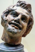 Head of Satyr. Roman 1st Century AD
