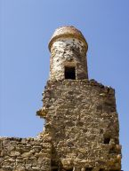 Watchtower also used as minaret