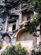 Rock cut tombs