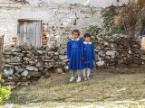 Children in traditional school uniform