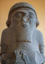 Statue of King - Late Hittite/Aramean