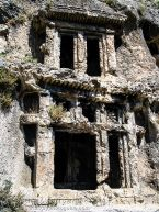 Rock-Cut Lycian Tombs
