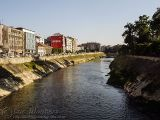 The Asi (Orontes) river divides Antakya
