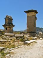 Lycian Pillar Tomb and Harpy Monument
