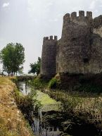 Mamure Castle - Outer walls with moat