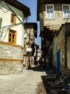 Winding Cobbled Streets of Hısar