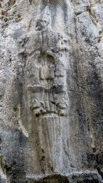 "Chamber B at Yazılıkaya. The ""Sword God"" Nergal of the Underworld"