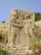 Stele of Heracles and King Antioch
