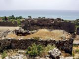 Remains of Byzantine houses